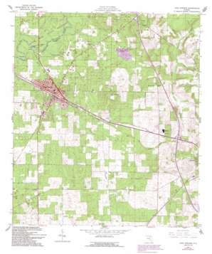 High Springs USGS topographic map 29082g5