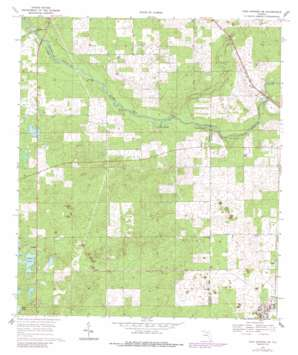 High Springs Sw topo map