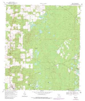 Bell USGS topographic map 29082g7