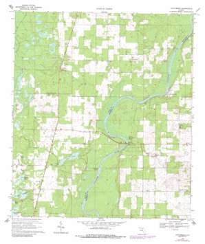 Hatchbend USGS topographic map 29082g8