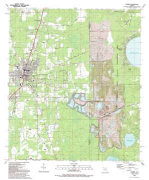 Starke USGS topographic map 29082h1