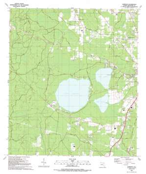 Sampson USGS topographic map 29082h2