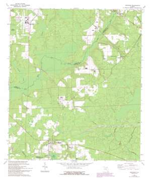 Brooker USGS topographic map 29082h3