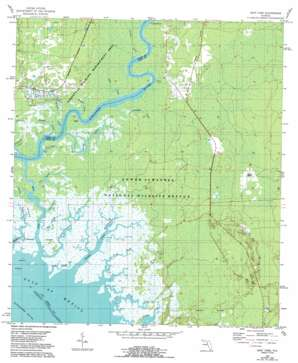 East Pass USGS topographic map 29083c1