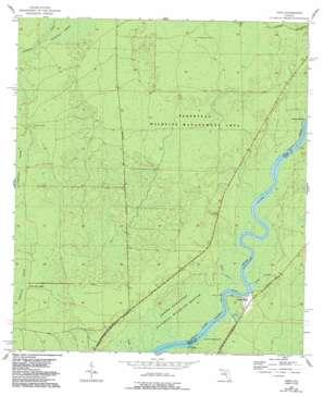 Vista USGS topographic map 29083d1
