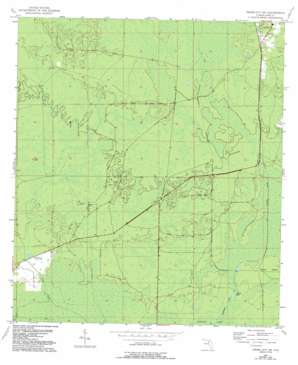 Cross City Sw USGS topographic map 29083e2
