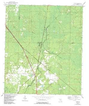 Clara USGS topographic map 29083g3