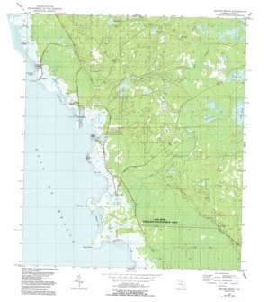 Keaton Beach USGS topographic map 29083g5