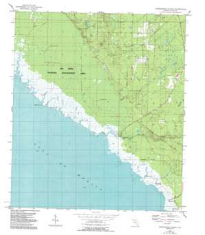 Okefenokee Slough USGS topographic map 29083h6