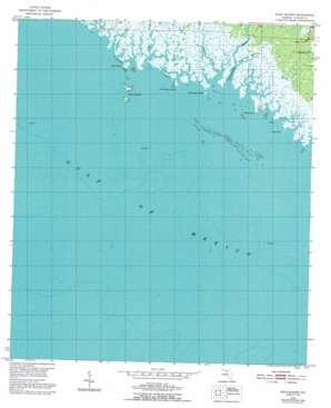 Rock Islands USGS topographic map 29083h7