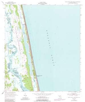 South Ponte Vedra Beach topo map