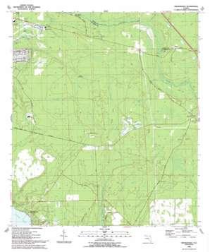 Orangedale topo map