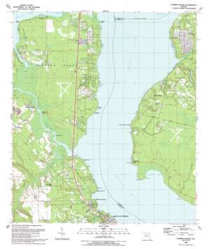 Fleming Island topo map