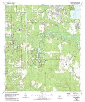 Middleburg topo map