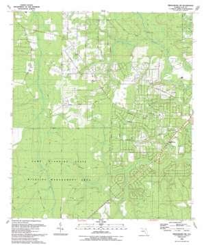 Middleburg Sw topo map