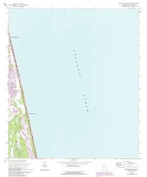 Mickler Landing topo map