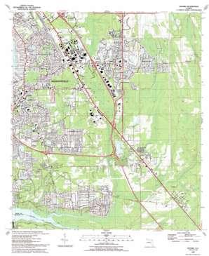 Bayard topo map