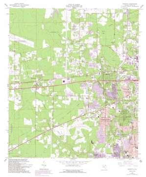 Marietta topo map