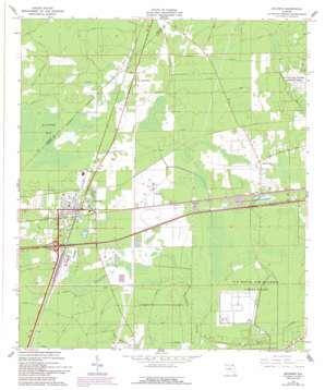 Baldwin topo map