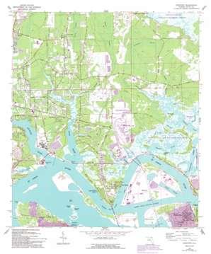 Eastport topo map