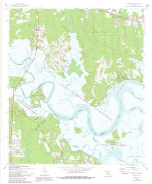 Hedges topo map
