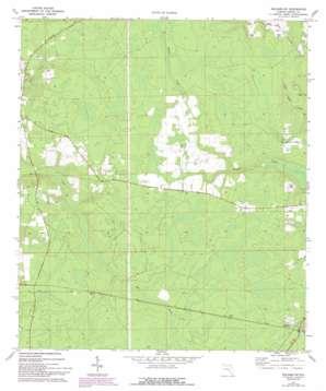 Hilliard Sw topo map
