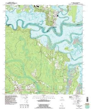 Saint Marys topo map