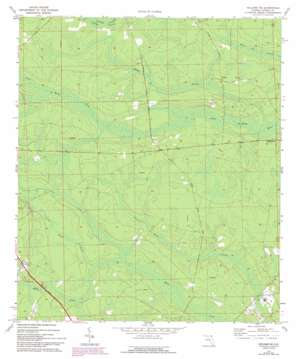 Hilliard Ne topo map