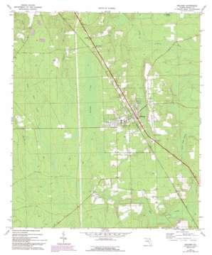 Hilliard topo map