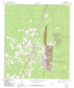 Lawtey topo map