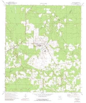 Raiford topo map