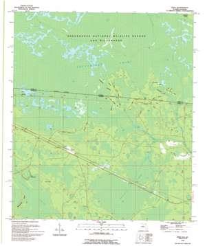 Eddy topo map