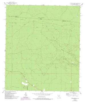 Cypress Creek topo map