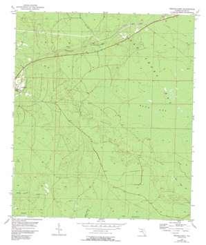 Fenholloway topo map
