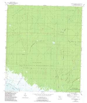 Manlin Hammock topo map