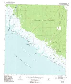 Snipe Island topo map
