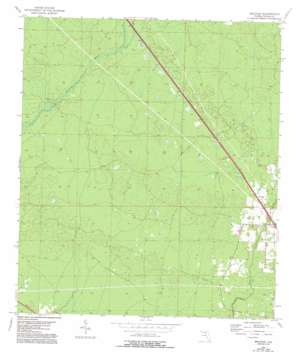 Secotan topo map