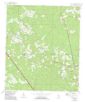 Shady Grove topo map