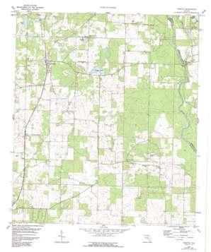 Pinetta topo map