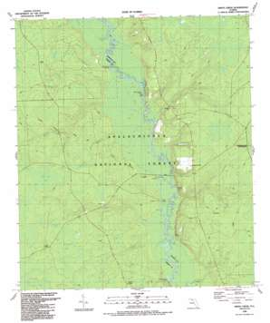 Smith Creek topo map