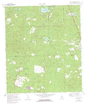 Lake Munson topo map