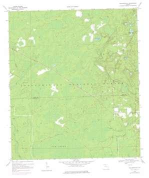Hilliardville topo map