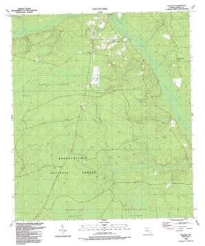 Telogia topo map