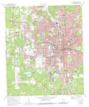 Tallahassee topo map