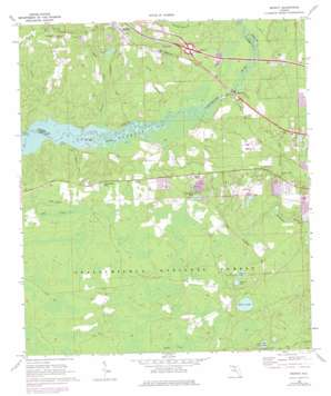 Midway topo map