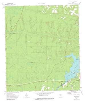 Bloxham topo map