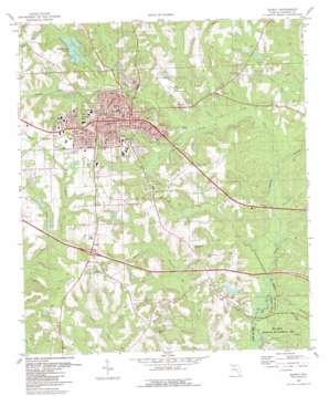 Quincy topo map