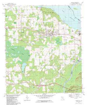 Sneads topo map