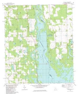 Fairchild topo map
