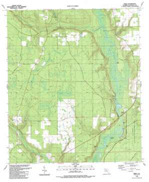 Frink topo map